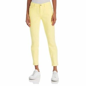 New Size 24 Current/Elliot Yellow Skinny Jeans